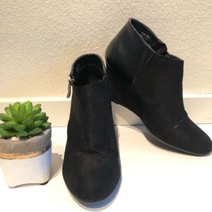 """Suede Wedge Booties - Chinese Laundry """"Valor"""""""